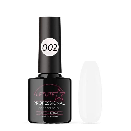 002 LETUTE™ Cream White Soak Off UV/LED Nail Gel Polish