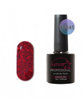 80545 LETUTE Ruby Ritz 80s Series Soak Off Gel Nail Polish 10ml