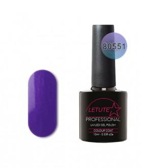 80551 LETUTE Purple Grapevine 80s Series Soak Off Gel Nail Polish 10ml