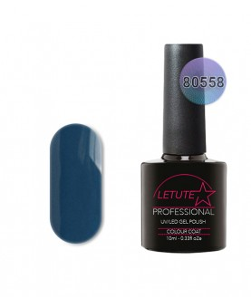80558 LETUTE Blue Rapture 80s Series Soak Off Gel Nail Polish 10ml
