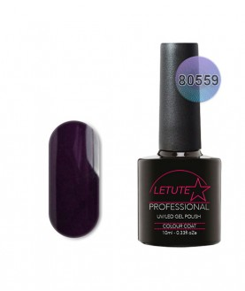 80559 LETUTE Dark Dahlia 80s Series Soak Off Gel Nail Polish 10ml