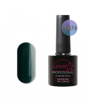 80574 LETUTE Forest Green 80s Series Soak Off Gel Nail Polish 10ml