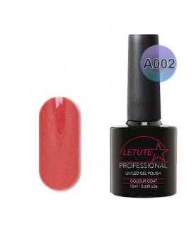 A002 LETUTE Dull Orange A Series Soak Off Gel Nail Polish 10ml