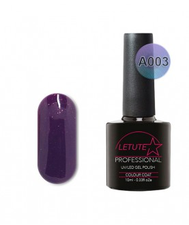 A003 LETUTE Lilac Plum Shine A Series Soak Off Gel Nail Polish 10ml