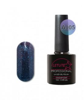 A005 LETUTE Blue Raindrops A Series Soak Off Gel Nail Polish 10ml