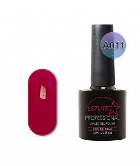 A011 LETUTE Dark Pink A Series Soak Off Gel Nail Polish 10ml