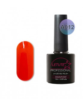 A012 LETUTE Orange Sweetie A Series Soak Off Gel Nail Polish 10ml