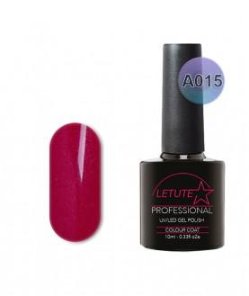 A015 LETUTE Red Shimmer A Series Soak Off Gel Nail Polish 10ml