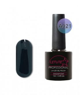 A021 LETUTE Black A Series Soak Off Gel Nail Polish 10ml