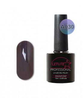 A030 LETUTE Dark Grey A Series Soak Off Gel Nail Polish 10ml