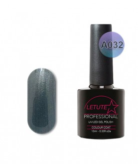 A032 LETUTE Steel Grey A Series Soak Off Gel Nail Polish 10ml
