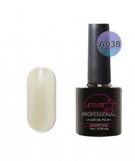 A038 LETUTE White Pearl A Series Soak Off Gel Nail Polish 10ml