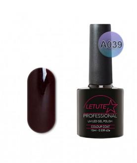 A039 LETUTE OX Blood Violet A Series Soak Off Gel Nail Polish 10ml