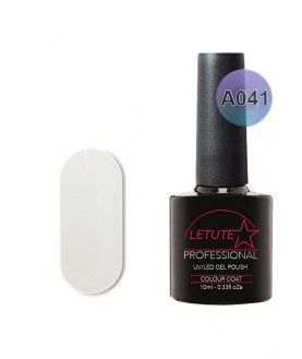 A041 LETUTE Block White A Series Soak Off Gel Nail Polish 10ml