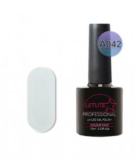 A042 LETUTE White Blue Tint A Series Soak Off Gel Nail Polish 10ml