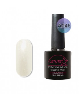 A046 LETUTE White VIP Silver A Series Soak Off Gel Nail Polish 10ml
