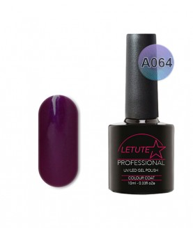 A064 LETUTE Lilac Sparkle A Series Soak Off Gel Nail Polish 10ml