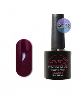 A072 LETUTE Dark Purple A Series Soak Off Gel Nail Polish 10ml