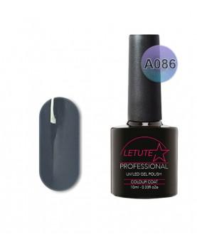 A086 LETUTE Dark Grey A Series Soak Off Gel Nail Polish 10ml