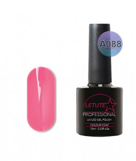 A088 LETUTE Bright Pink A Series Soak Off Gel Nail Polish 10ml