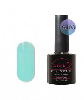 A103 LETUTE Turquoise Blue A Series Soak Off Gel Nail Polish 10ml