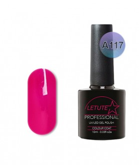 A117 LETUTE Dark Pink A Series Soak Off Gel Nail Polish 10ml
