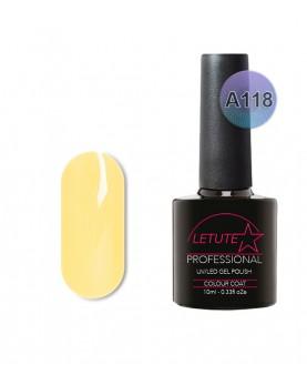 A118 LETUTE Sun Bleached Yellow A Series Soak Off Gel Nail Polish 10ml