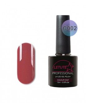 C002 LETUTE Bordo Red C Series Soak Off Gel Nail Polish 10ml