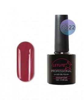C022 LETUTE Dark Red C Series Soak Off Gel Nail Polish 10ml