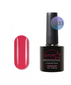 C033 LETUTE Dark Super Pink C Series Soak Off Gel Nail Polish 10ml
