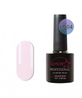 L04 LETUTE White Purple Luxury L Series Soak Off Gel Nail Polish 10ml