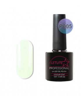 P05 LETUTE Soft Light Green Pastel P Series Soak Off Gel Nail Polish 10ml