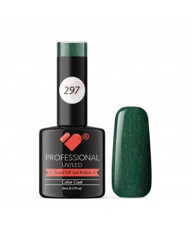297 VB Line Pretty Poison Green gel nail polish