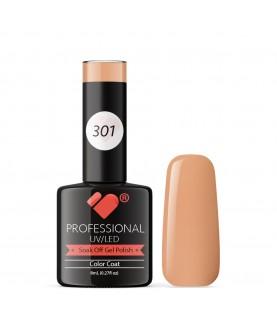 301 VB Line Nude Brown gel nail polish