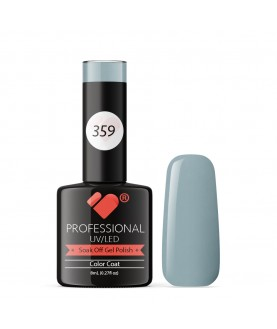359 VB Line Light Denim Patch Grey gel nail polish