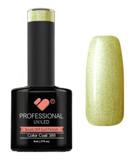 388 VB Line Limeade Metallic Green gel nail polish