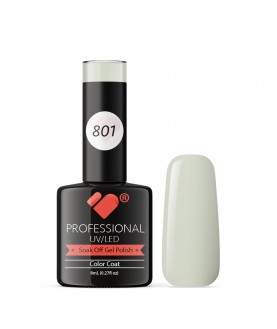 801 VB Line London City Grey White gel nail polish