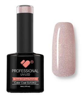 BJG-002 VB Line Rose Sky Metallic gel nail polish