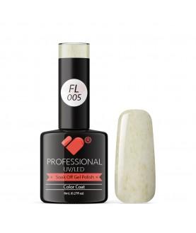 FL005 VB Line Candy Floss Green Grey White gel nail polish