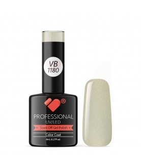 VB-1180 VB Line VIP Silver Chrome Saturated Gel Nail Polish