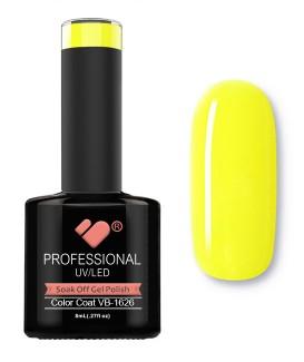 VB-1626 VB Line Neon Yellow Saturated Gel Nail Polish