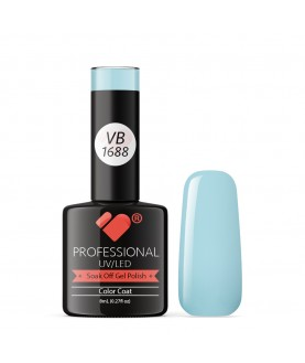 VB-1688 VB Line Very Light Blue Saturated Gel Nail Polish
