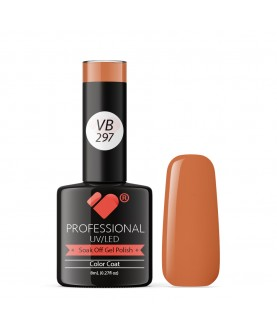 VB-297 VB Line Nude Light Brown Saturated Gel Nail Polish