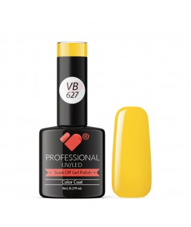 VB-627 VB Line Hot Banana Yellow Saturated Gel Nail Polish