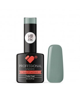 VB-816 VB Line Dark Grey Green Saturated Gel Nail Polish