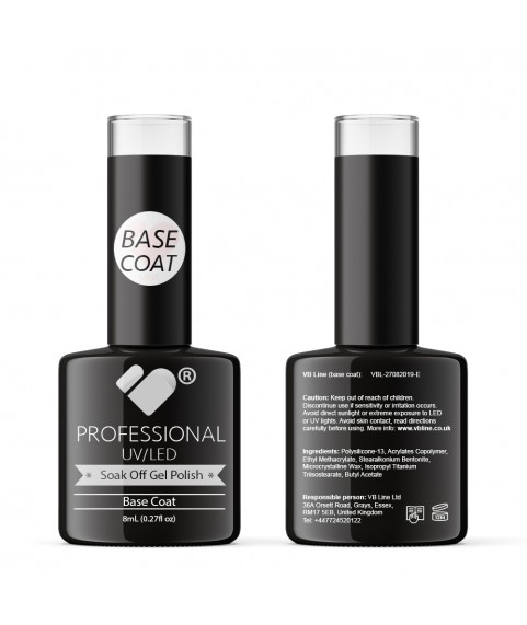 Base Coat VB Line UV/LED Soak Off gel nail polish