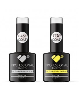 Top and Base Coats VB Line UV/LED Soak Off gel nail polish