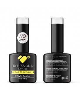 NO WIPE Top Coat VB Line UV/LED Soak Off gel nail polish